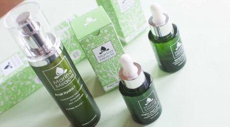 review marina miracle face cream oil argan serum