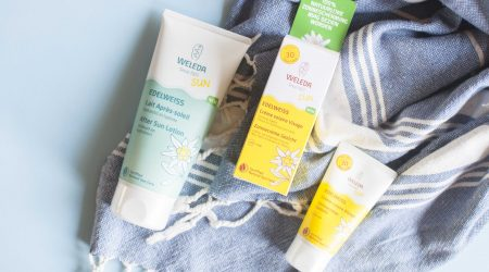 review weleda eidelweiss zonnecreme gezicht after sun sun cream spf 30