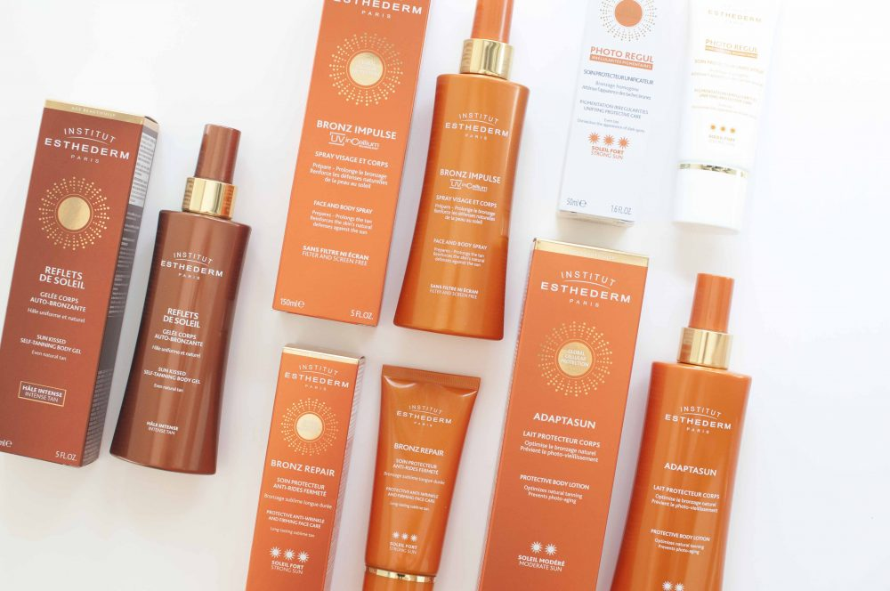 review estederm sun care bronzing