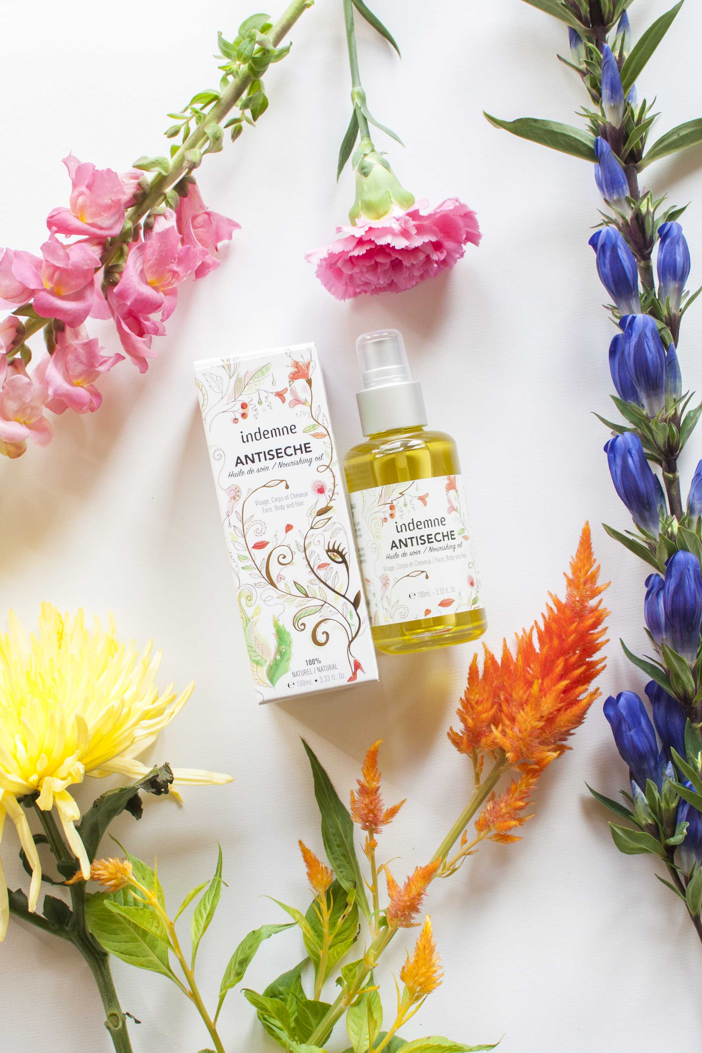 review indemne antiseche Nourishing oil