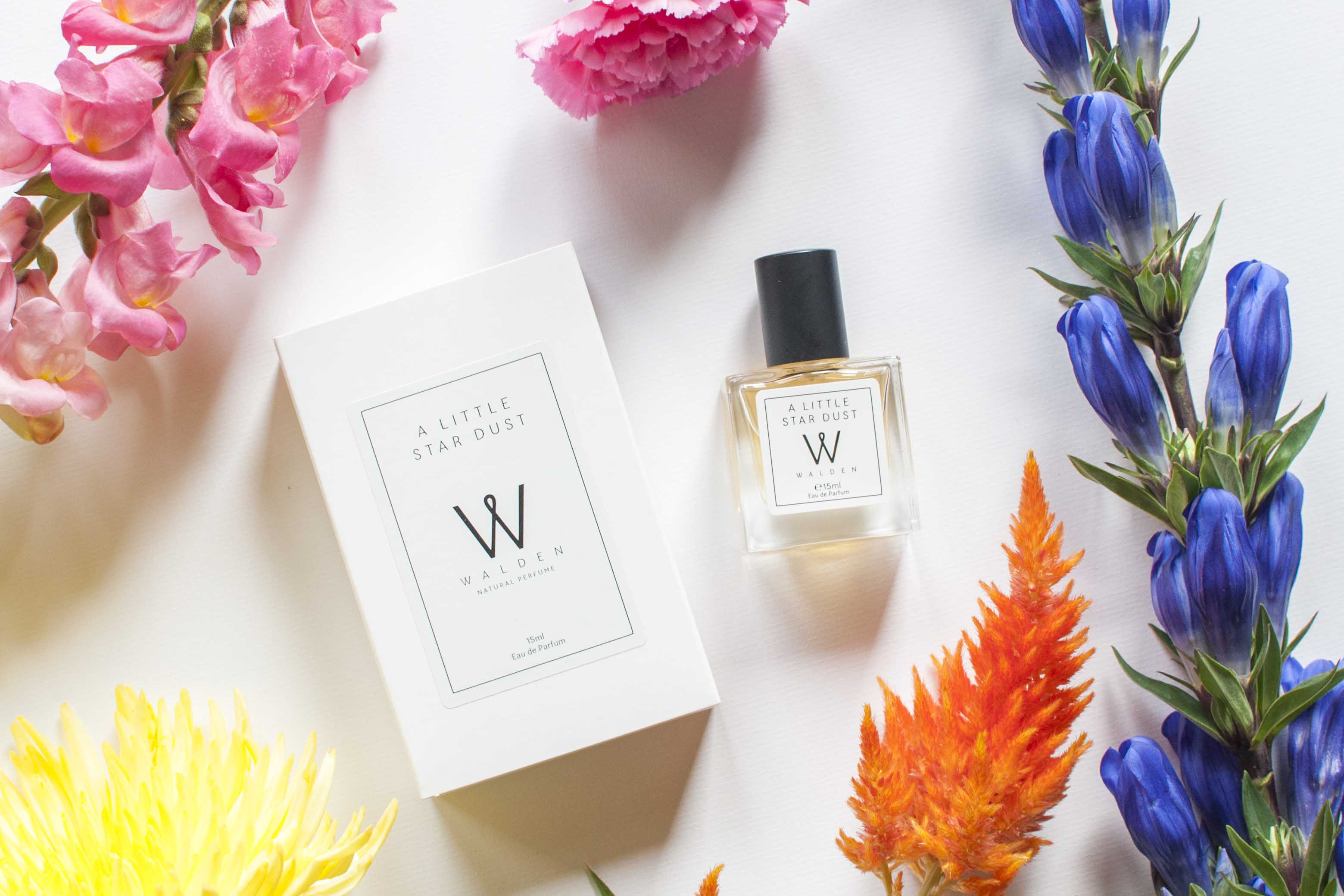review walden perfume a little star dust