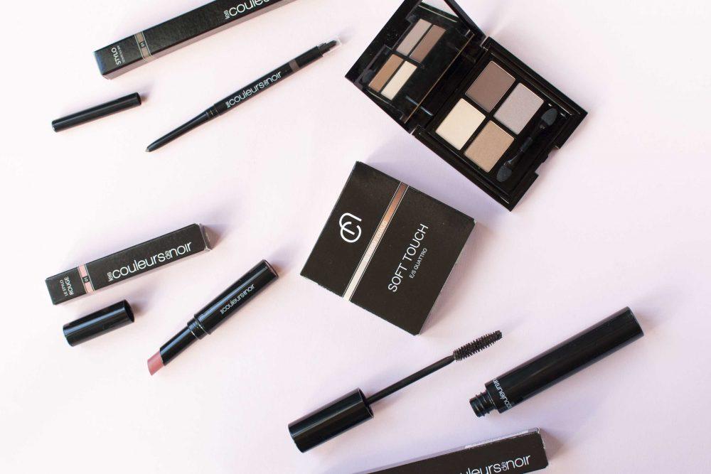 Review les couleurs de noir natural make-up