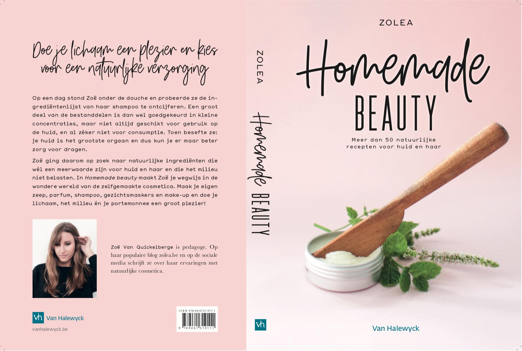 Zolea homemade beauty DIY boek