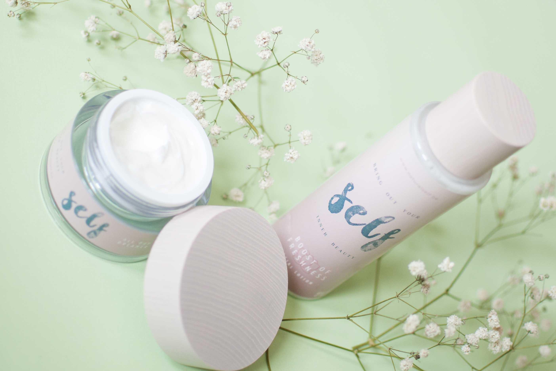 review natural self day cream toner tonic natural
