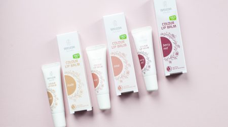 review weleda colour balm lippenbalsem