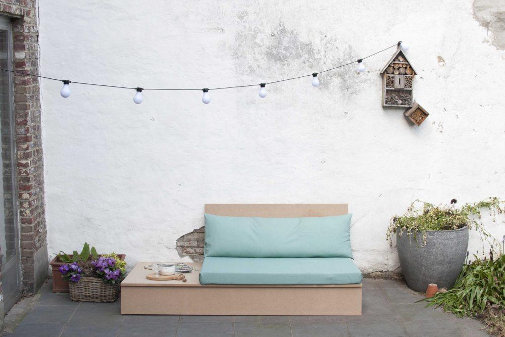 Black+decker diy garden lounge sofa tuinbank maken