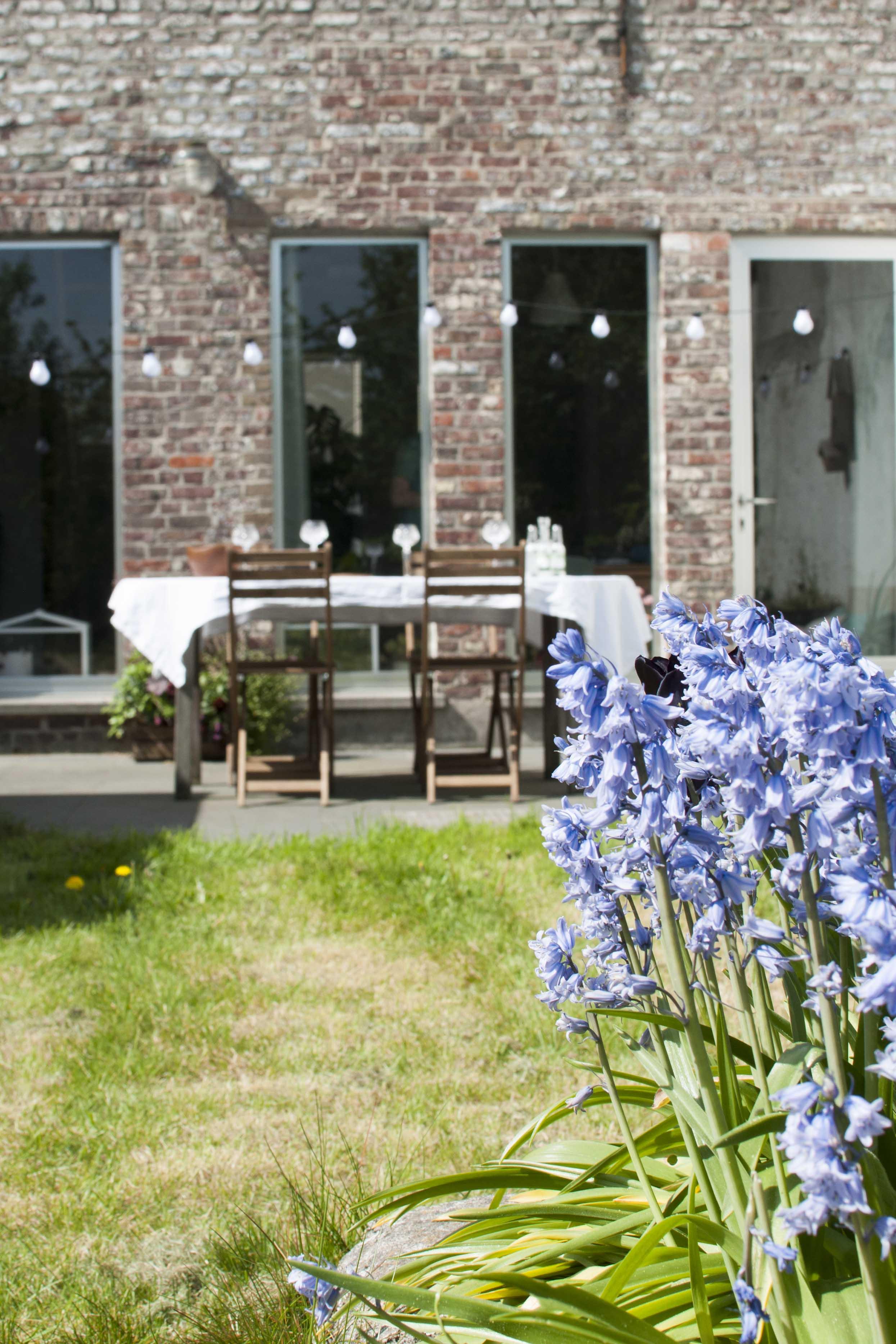 DIY garden make-over terrace