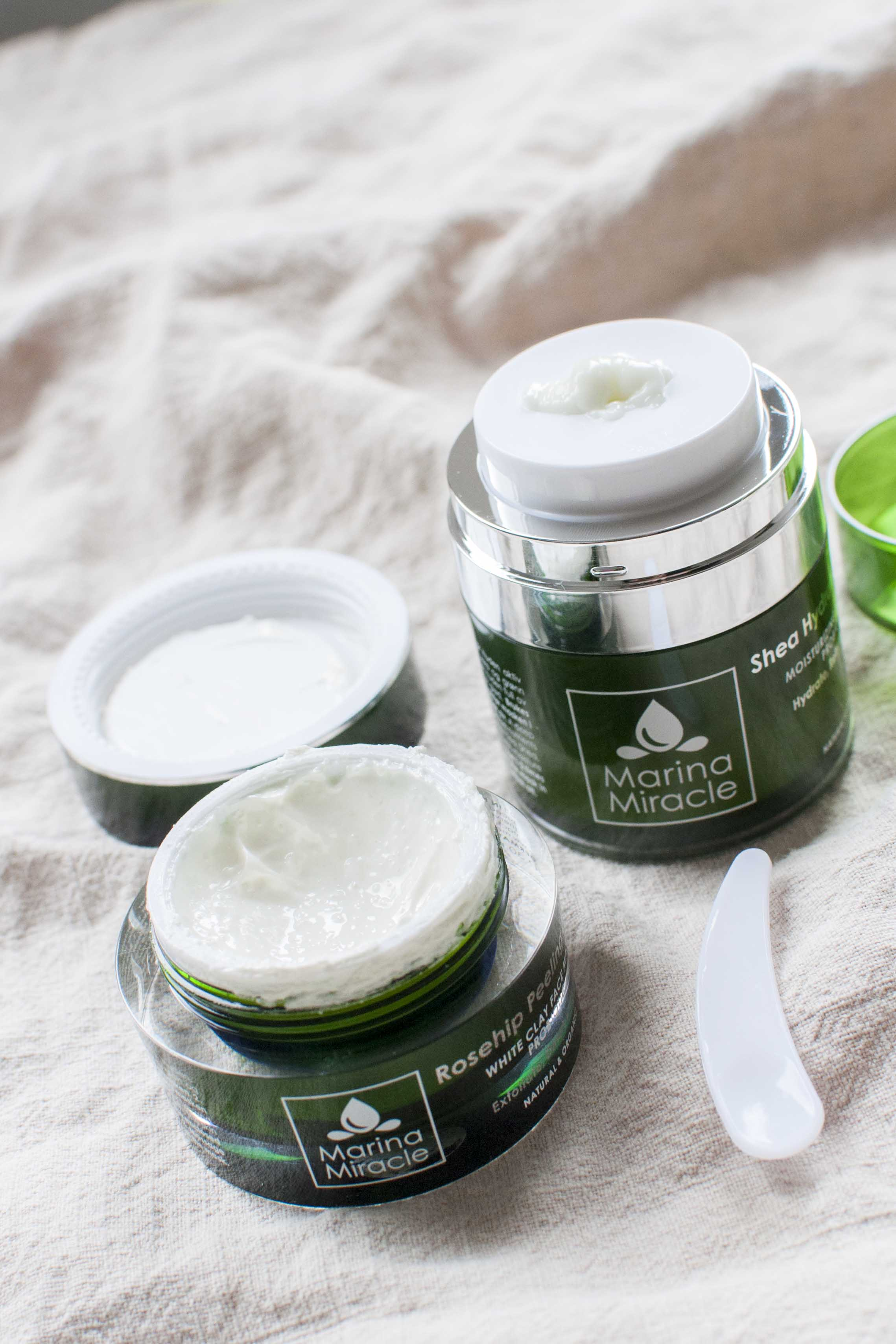 review marina miracle face masks