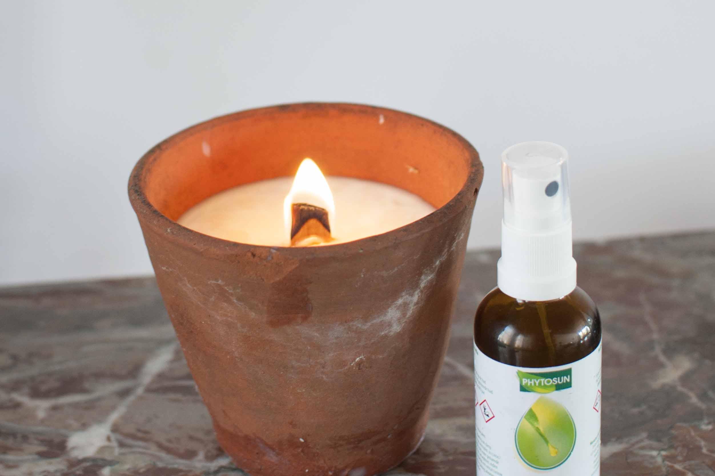 DIY citronella tuinkaars phytosun anti muggen