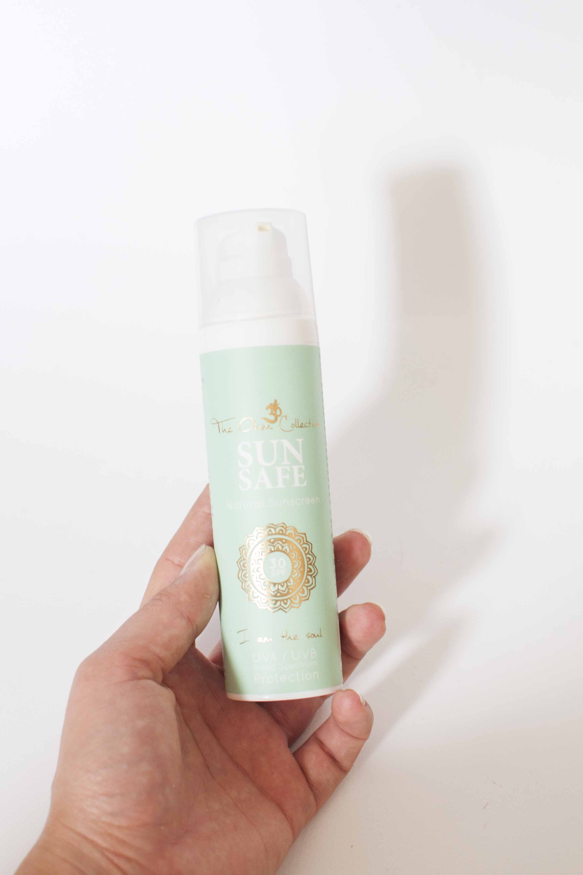 review the ohm collection sun safe spf zonbescherming natuurlijk