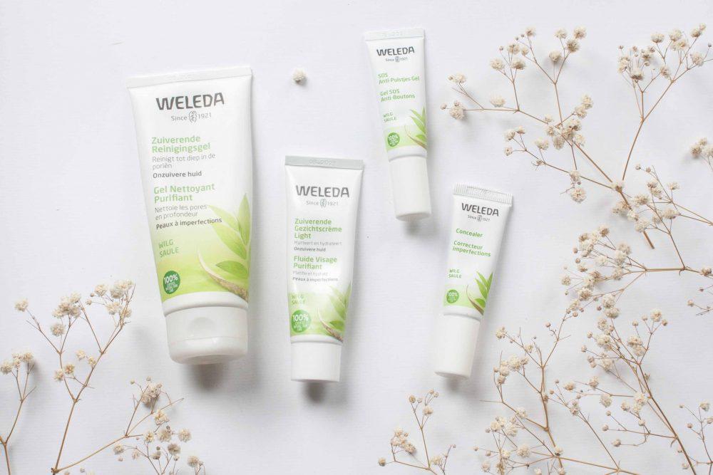 review weleda onzuivere huid