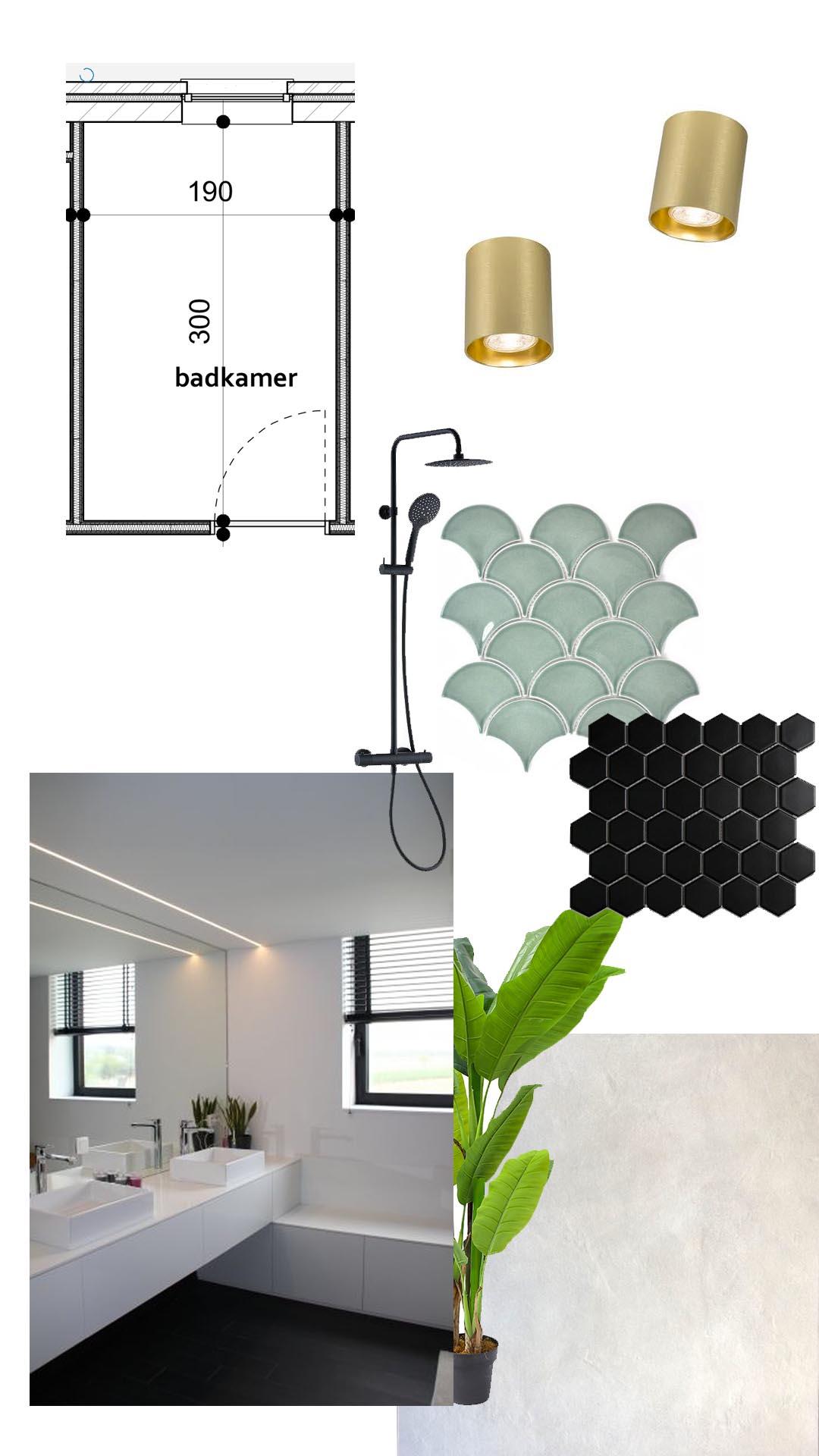 badkamer moodboard verbouwen zolea duurzaam