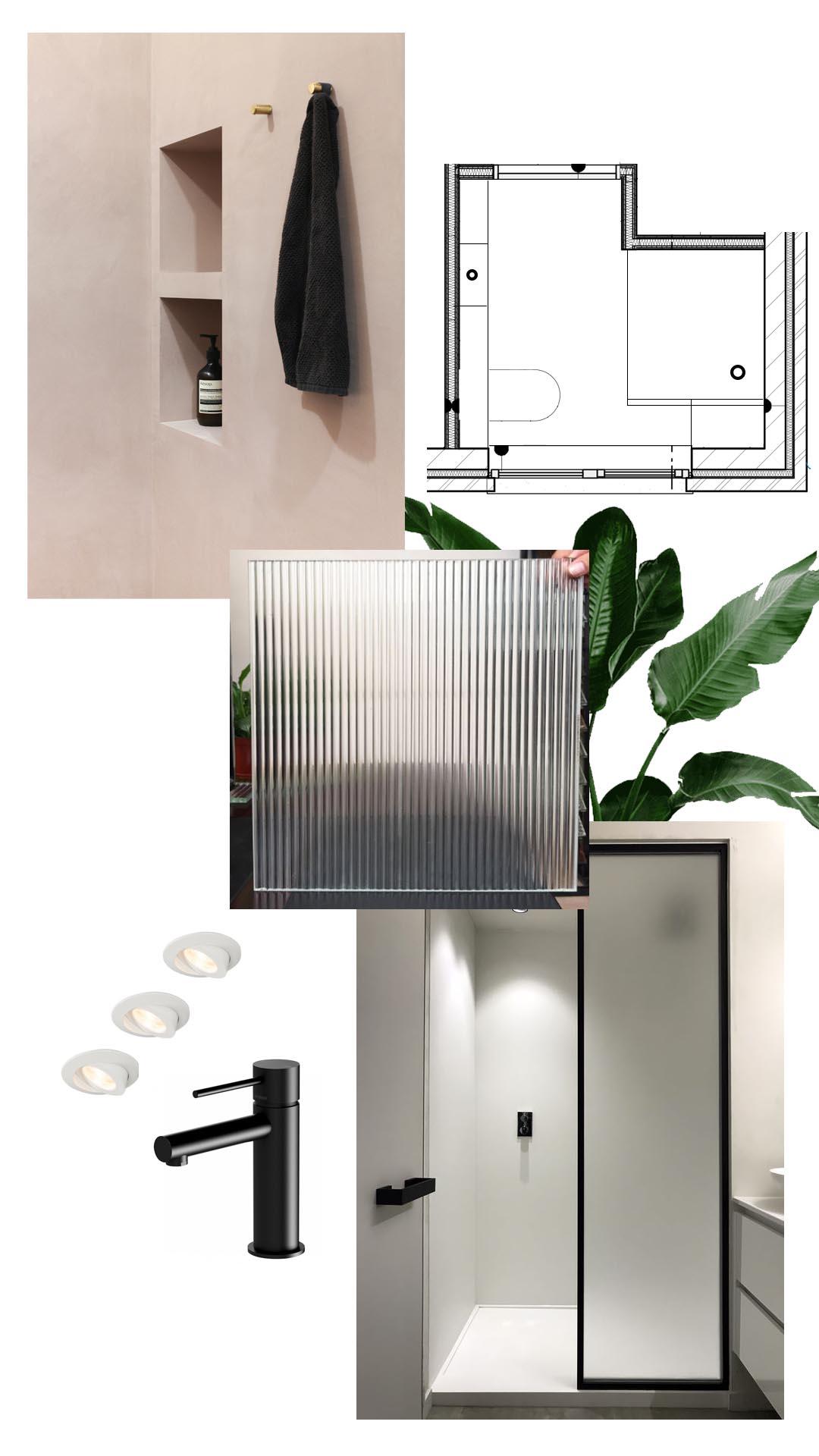 douchekamer moodboard zolea verbouwen duurzaam