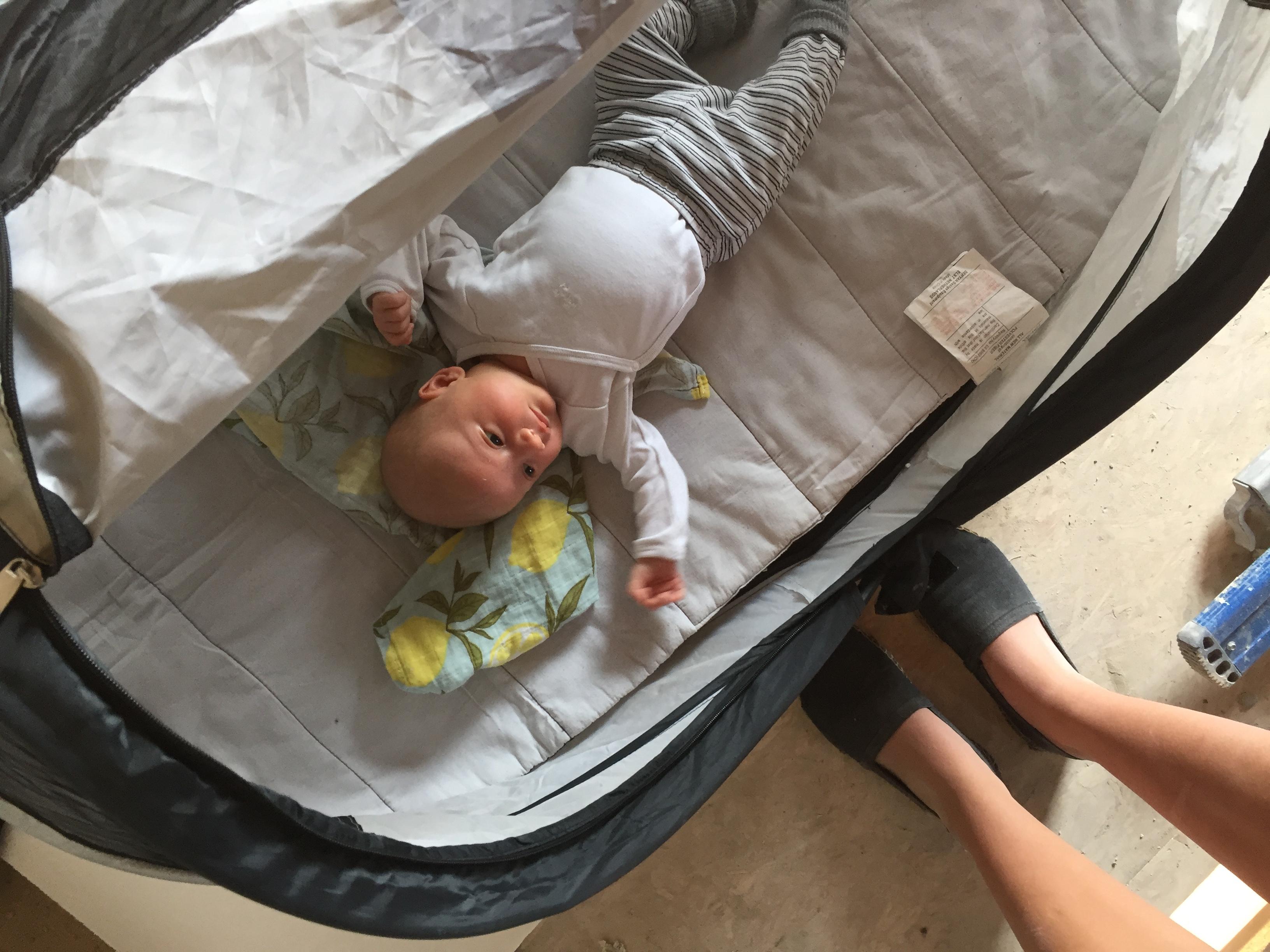 Verbouwen met een baby
