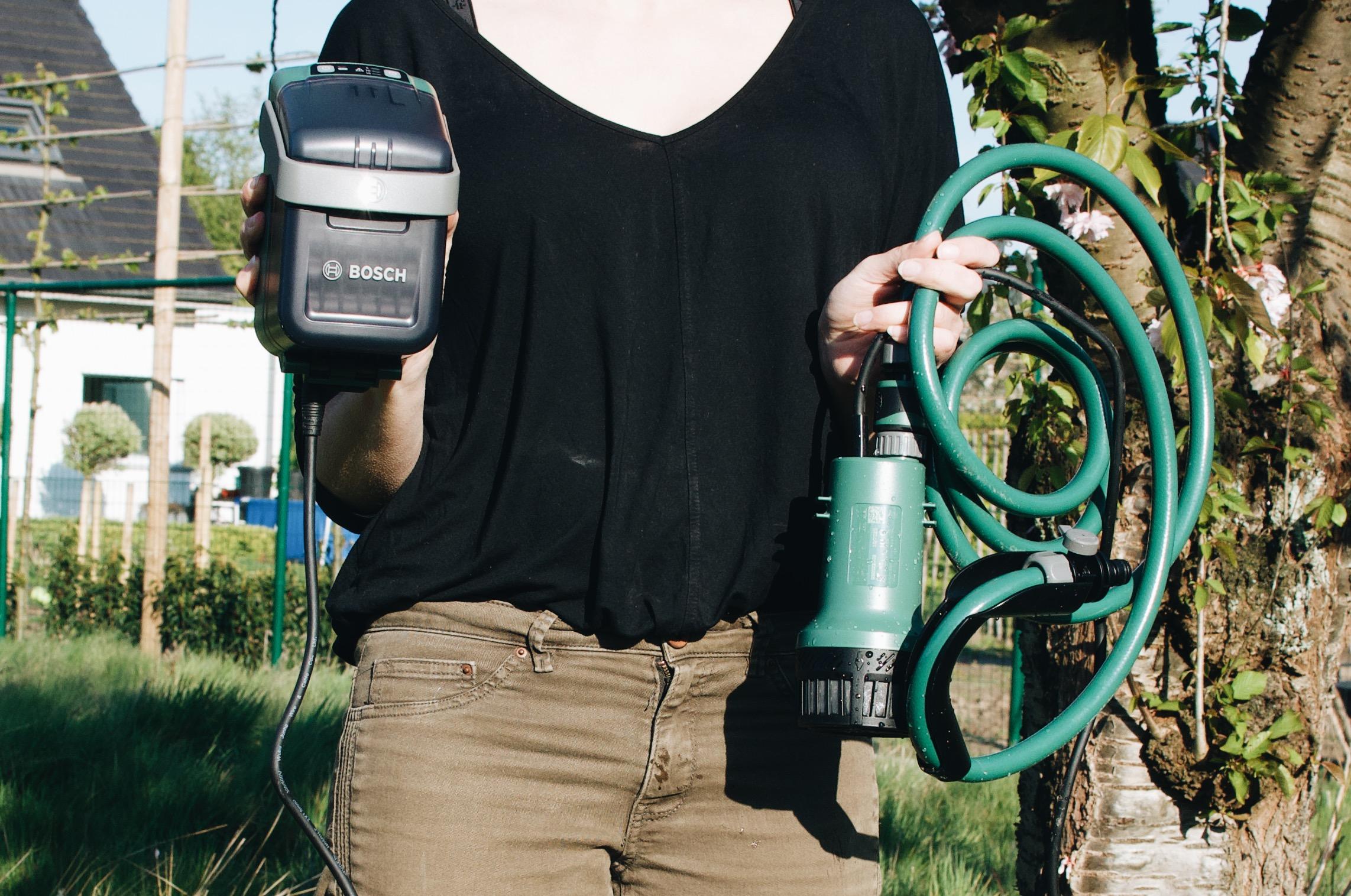 Bosch powerforall gardenpump citymower review