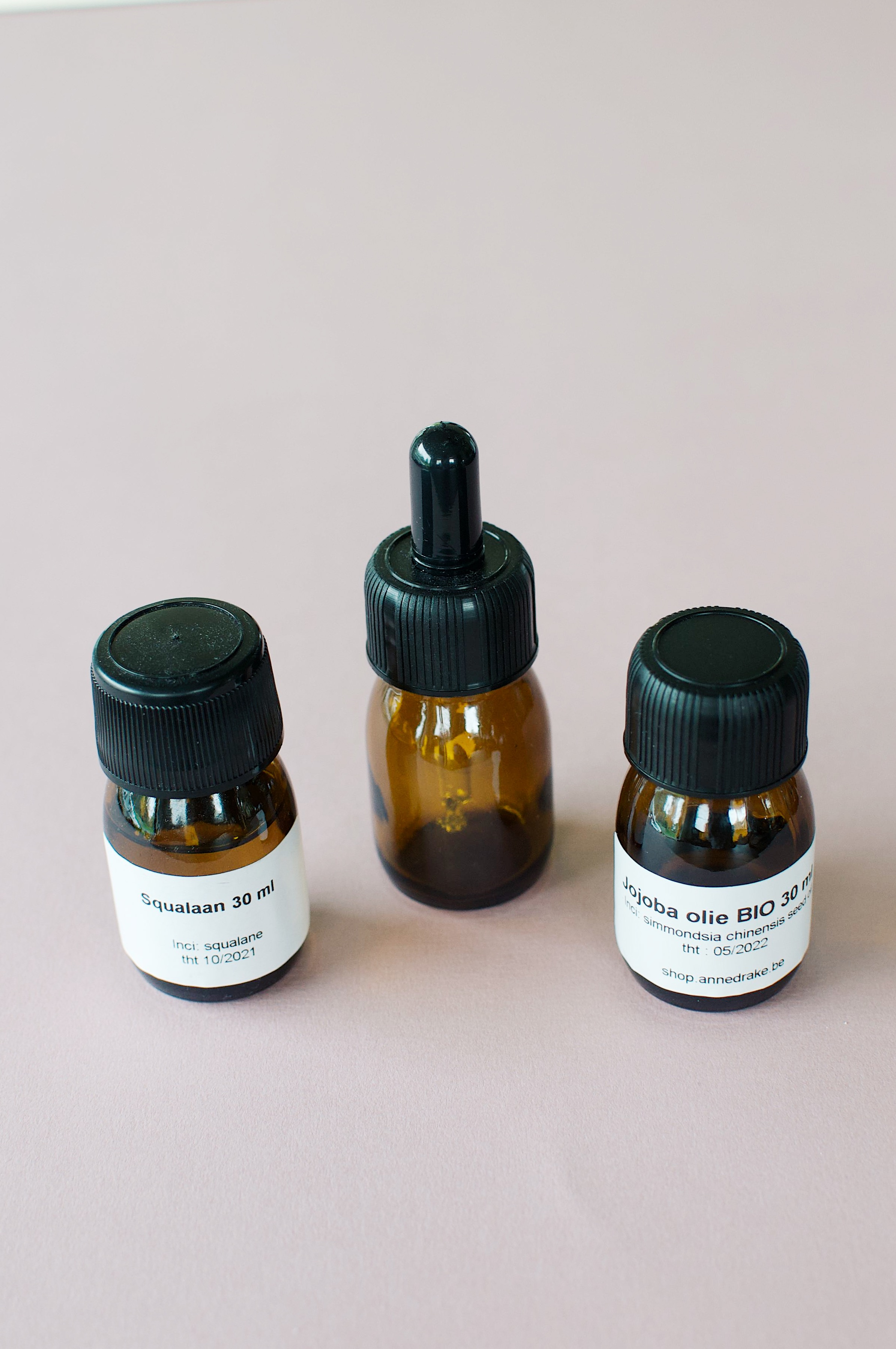 DIY dagcrème en serum met squalaan